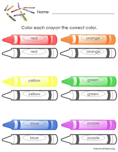119 Best Shapes And Colors Images On Pinterest Preschool Elementary Schools And Kindergarten Colour Worksheets For Preschoolers