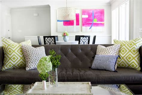 leather sofa decorating ideas brown leather sofa decorating ideas brokeasshome com