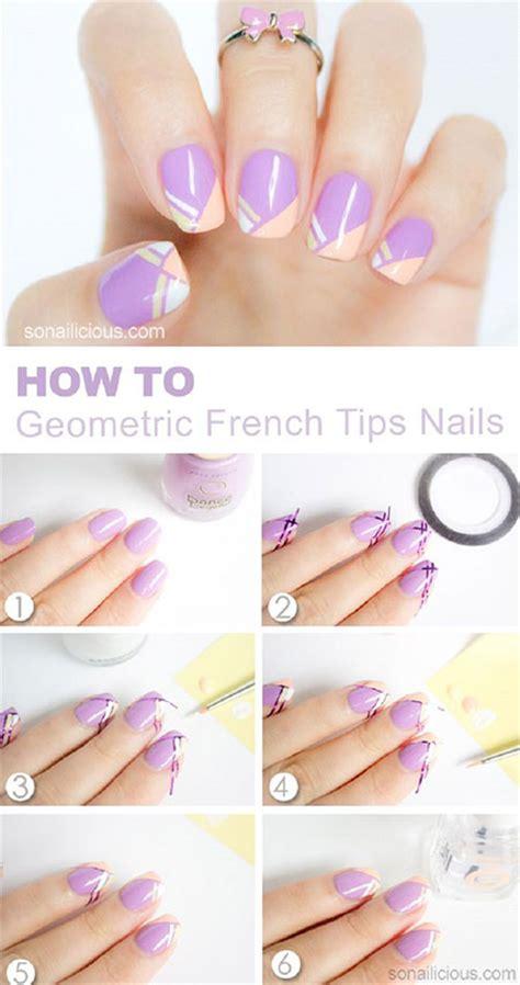nail art ideas tutorial 18 easy step by step summer nail art tutorials for
