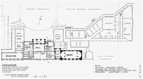waddesdon manor floor plan plate 98 ken wood plan of the house british history online