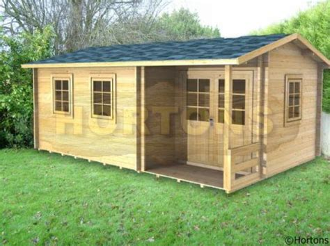 Stafford Sheds by Stafford 5 5 X 3 5 Log Cabin Hortons Portable Buildings