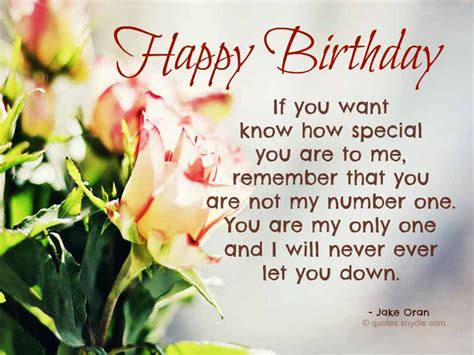 Birthday For Lover Quotes Birthday Love Quotes Quotes And Sayings