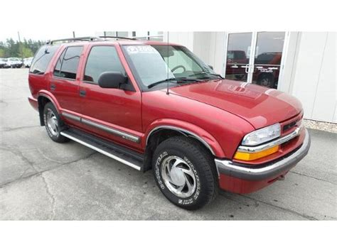 2001 chevrolet blazer ls 2001 chevrolet blazer ls for sale 72 used cars from 1 890