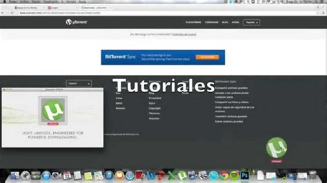 tutorial utorrent per mac tutorial para mac como descargar utorrent youtube