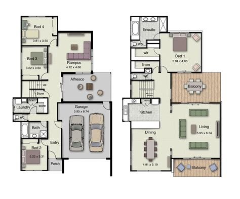 Inverted Living | the beachview 382 offers inverted living and two spacious
