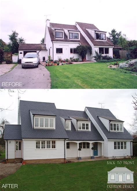 house makeover new england makeover by back to front exterior design