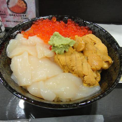Eyewear Sashii 5 kaisen don salmon roe sea urchin pecten kaisendon