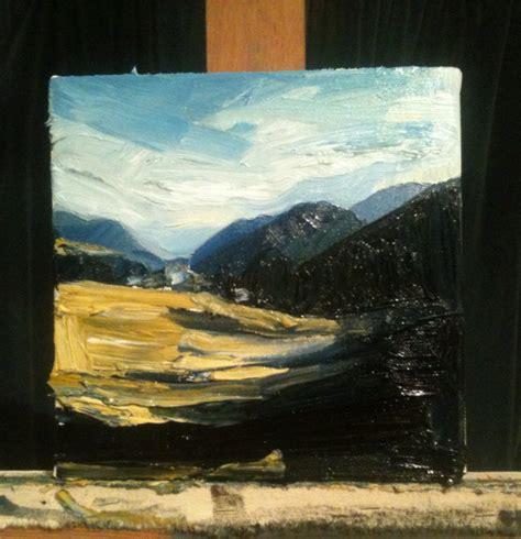 Landscape Paintings New Zealand New Zealand Landscape Painting Dave Gibbons Artwork