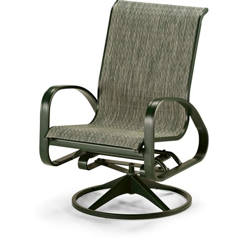telescope casual primera sling patio adjustable swivel rocker dining arm chair ultimate patio
