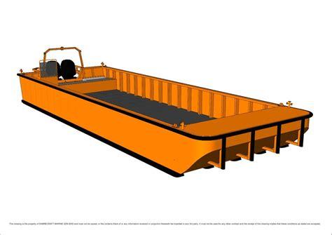 work boat punt for sale new sabrecraft marine work boat 10000 work punt barge