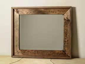 wood bathroom mirrors large distressed wood mirror by englertandenglert on etsy