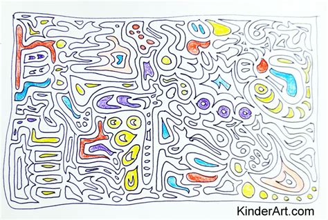 doodle primary ideas doodles drawing lessons for elementary school children