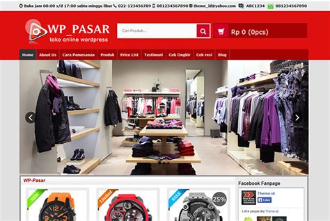 Wpgrosir Theme Website Toko Versi Terbaru wp pasar theme tokosatu jasa pembuatan website dan toko
