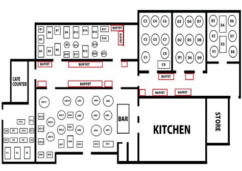 Floorplan Maker restaurant layout samundar