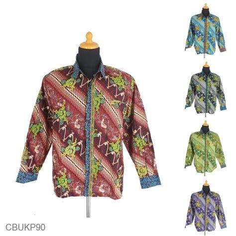 Kemeja Batik Lengan Panjang Parang by Kemeja Batik Panjang Motif Parang Cuthik Isi Kemeja