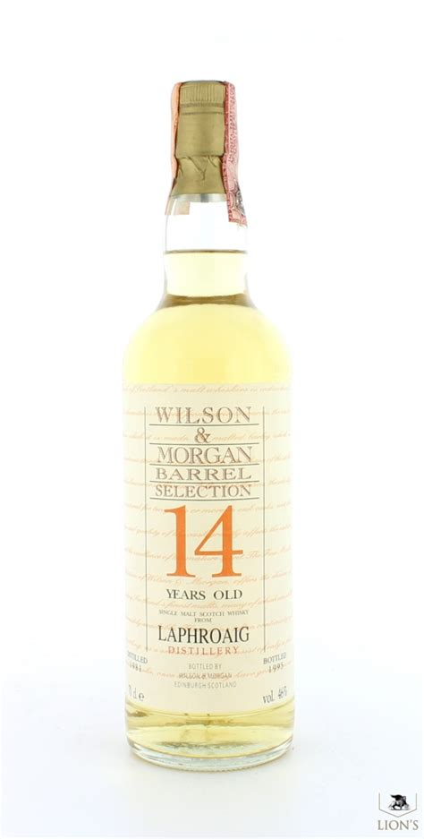 morgan 14 years old laphroaig 1981 14 years old wilson morgan one of the