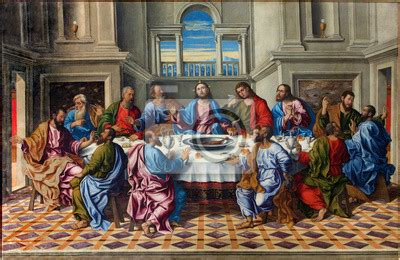 last supper wall mural wall mural venice last supper of by girolamo da