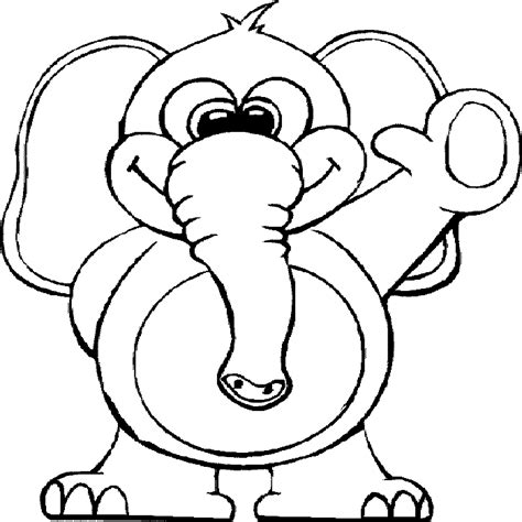 Funny Animal Coloring Pages Coloring Page Animals