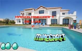 minecraft maison de luxe