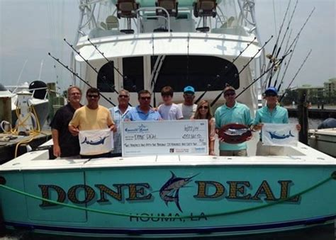 done deal fishing boats record payout purse for 2014 emerald coast blue marlin