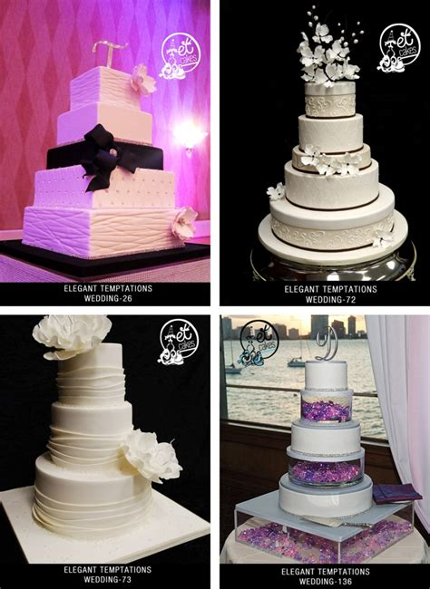 Wedding Cakes Miami by Miami Custom Wedding Cake Designs Temptations