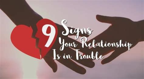 8 Signs Your Relationship Is In Trouble by 9 Signs Your Relationship Is In Trouble