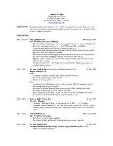 resume sle objectives sales resume objective berathen