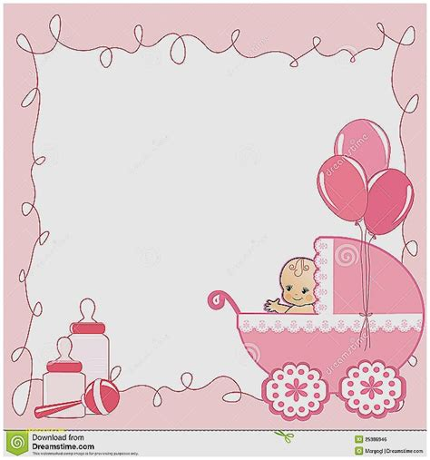 Baby Shower Boarder by Baby Shower Invitation Awesome Baby Shower Invitation