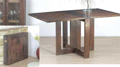 folding dining room table  small spaces minimalist