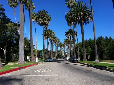 google beverly hills panoramio photo of street in beverly hills