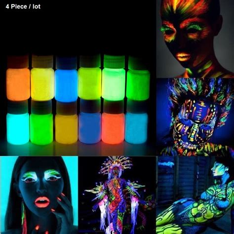 glow in the paint national bookstore aliexpress buy 4 x glowing paint glow in the