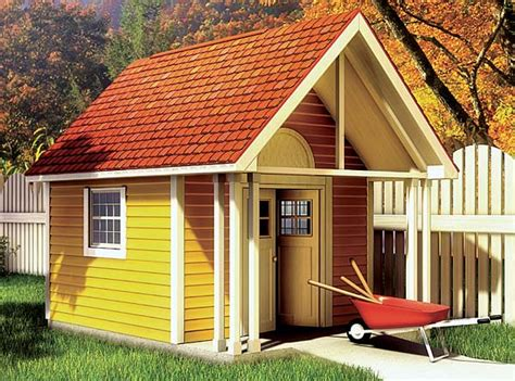 backyard buildings and more project plan 90020 fancy storage shed
