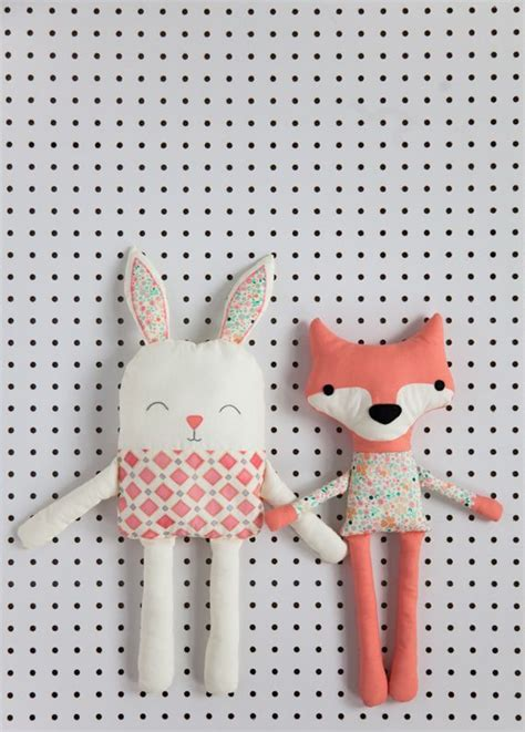 Handmade Soft Toys Free Patterns - best 25 fox pattern ideas on