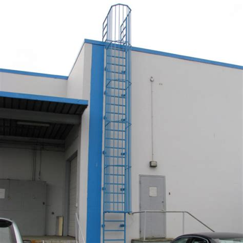 lockable roof ladders roof access ladders bc site service