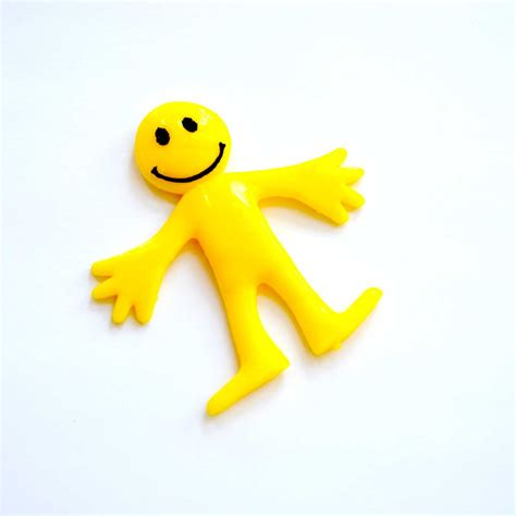Import Bag Smiley pack of 20 x yellow stretchy smiley bag