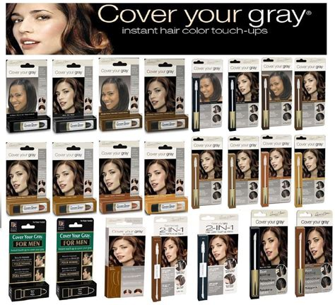 Cover Your by Cover Your Gray Hair Instant Touch Up Colour Hair