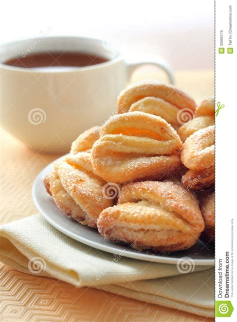 Is There Sugar In Cottage Cheese by Cottage Cheese And Sugar Cookies Royalty Free Stock Photo