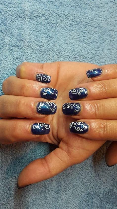 Ongle En Gel Bleu Marine by Ongles En Gel Bleu Marine