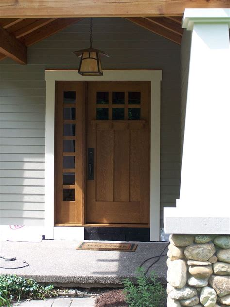 10 Best Images About Front Doors On Pinterest Modern Mission Style Exterior Doors
