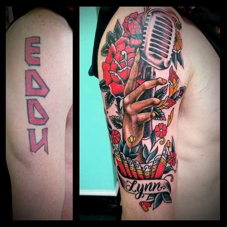 microphone tattoo cover up s tattoo designs tattoonow