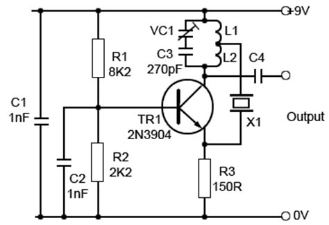 relay capacitor oscillator 5 pin relay oscillator wiring diagram wiring diagrams