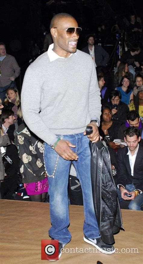 Tyson Beckford At 2008 Fashion Week by Tyson Beckford Mercedes Fashion Week Fall 2008