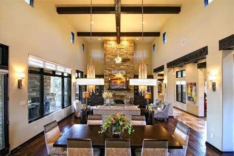 Hill Country Dining Room by Hill Country Modern By Zbranek Holt Custom Homes