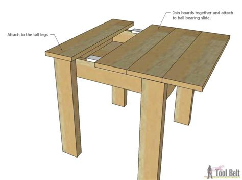 children s bench plans simple kid s table and chair set her tool belt