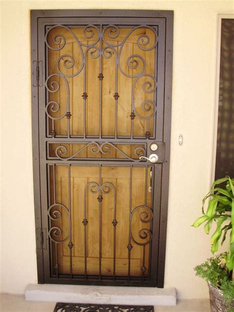 metal door designs best 25 security storm doors ideas on pinterest custom