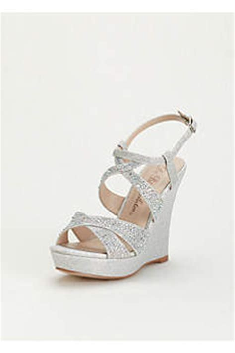 Black Wedding Wedges by S Wedding Wedges Silver White Black More
