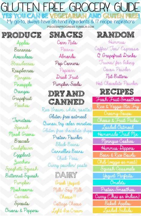 Gluten Free Pantry List by Best 25 Basic Grocery List Ideas On Produce
