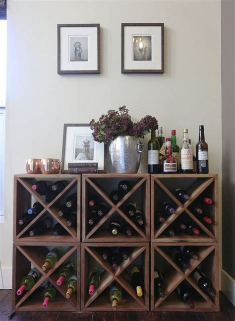 kitchen wine rack ideas 25 best diy wine racks ideas on pinterest kitchen wine