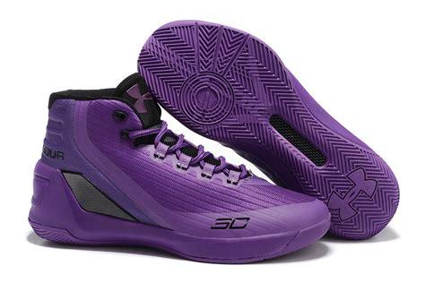 steph curry basketball shoes mens armour ua steph curry 3 purple black basketball