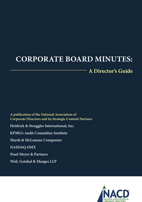 corporate minutes template word corporate minutes template free premium